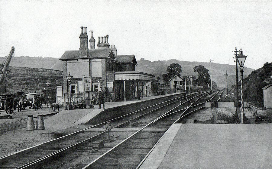 Shere Gomshall And Shere Train Station